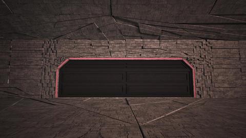 4K Cinematic Space Station Hangar 13 Animation