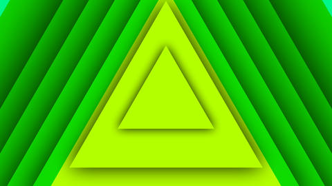 Colorful Background From Seven Triangles Animation