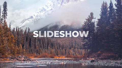 Simple Logo Slideshow After Effects Template