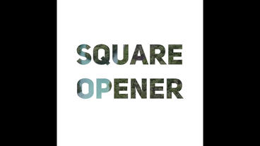 Square Opener Premiere Proテンプレート