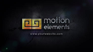 Stone Logo Slam After Effects Template