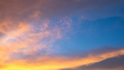 time lapse Beautiful sky Archivo