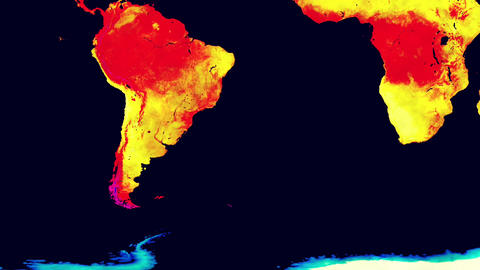 Earth Landmass Global Warming Southern Hemisphere 1 Animation
