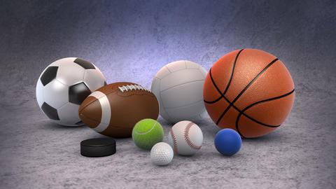 Sports Balls Animation