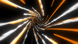 Wormhole through time and space, data technology style Animation