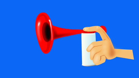 Air Horn Animation