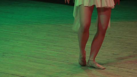 ballerina on stage Footage