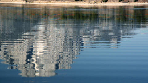 Jackson lake Reflection Footage