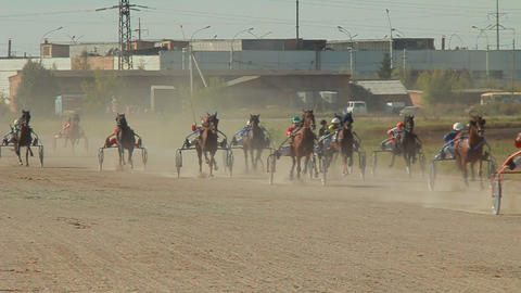Horse racing Footage