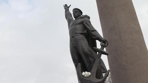 monuments Vladivostok Footage