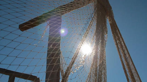 fishing nets Footage