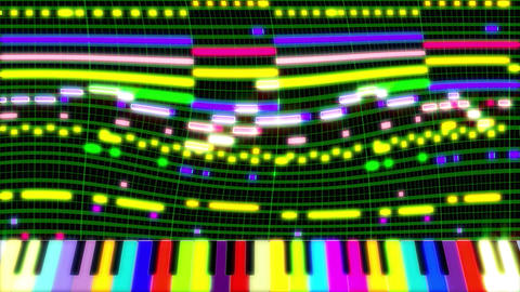 pianoroll00061 CG動画