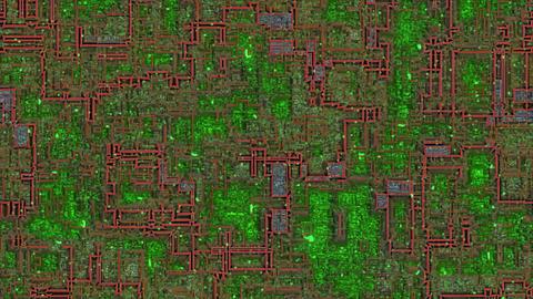 circuit00071, CG動画素材