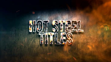 HOT STEEL TITLES After Effects Templates