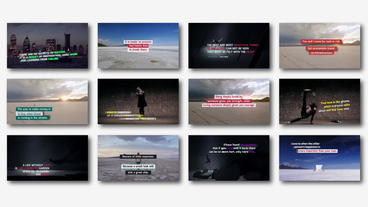 Social Media Titles Pack Premiere Pro Template