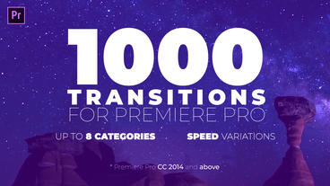 Seamless Transitions for Premiere Pro Premiere Proテンプレート