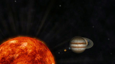 Digital Animation of the Solar System Image