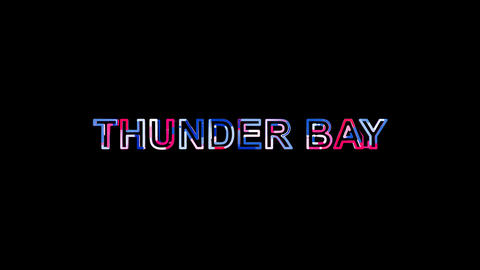 Letters are collected in city THUNDER BAY, then scattered into strips. Bright Animation