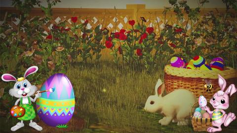 Easter Set 11-Virtual Background Loop ライブ動画