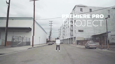 Dirty Glitch & VHS Style Premiere Proテンプレート