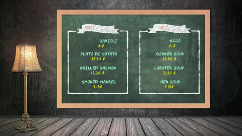 Restaurant Menu After Effects Template