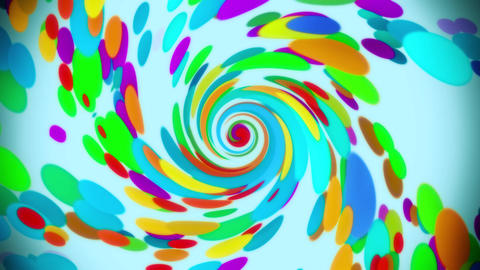 Vortex of Colors VJ Loop Abstract Motion Background V2 Animation