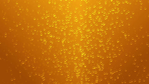 Craft Lager Beer Motion Background (Seamless, Looping), Sparkling Beer Bubbles CG動画素材