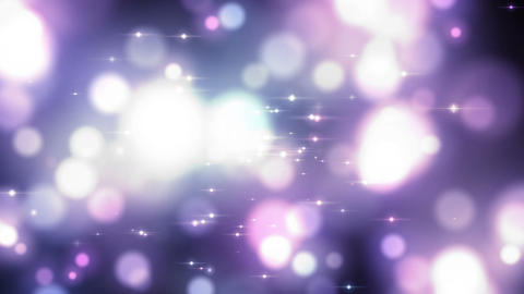Magical glow particle CG動画