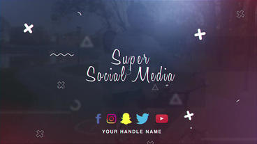 Super Social Media After Effects Template