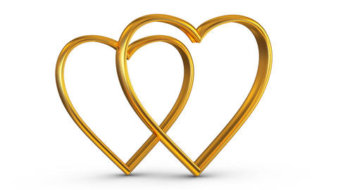 The Golden hearts Animation
