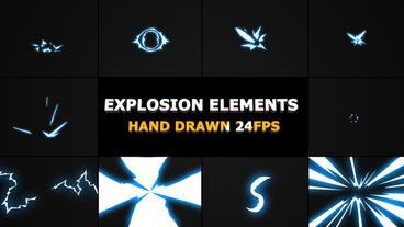 Flash FX Explosion Elements Premiere Pro Template