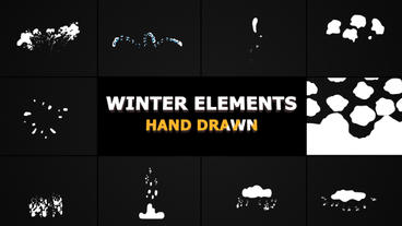 Winter Elements Premiere Pro Template