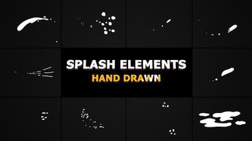 Splash Animated Elements Premiere Pro Template