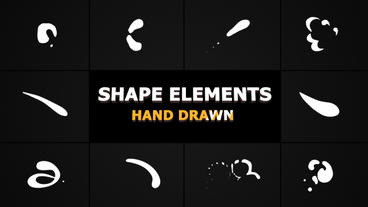 Shape Elements Premiere Pro Template