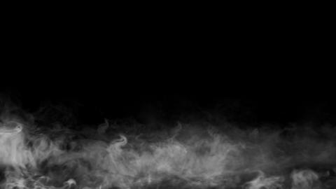 Slow Fog Mist CG動画素材