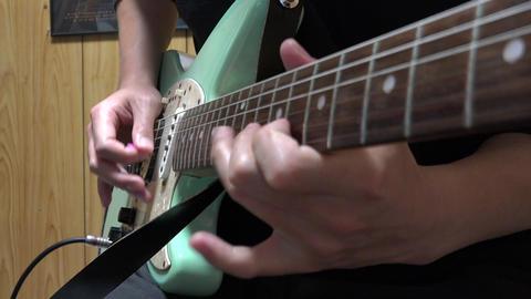 4K play the guitar 2 ギター演奏 無料4K動画」 Footage