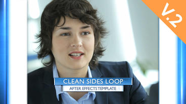 Clean Sides Loop (V.2) - After Effects Template After Effects Template