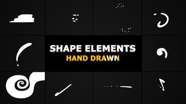 Flash FX Shape Elements Premiere Pro Template