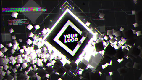 Electric Logo After Effects Template