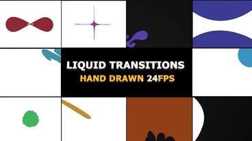 Funny Cartoon Transitions Premiere Pro 템플릿