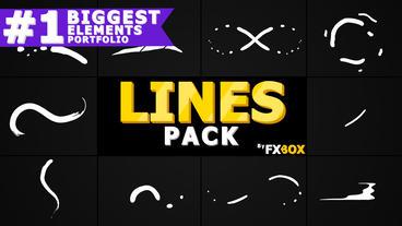 Flash FX Shape Lines Premiere Pro Template