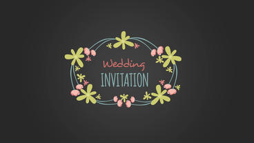 10 floral frame Plantilla de After Effects