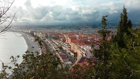 Aerial View of The City of Nice French Riviera Image