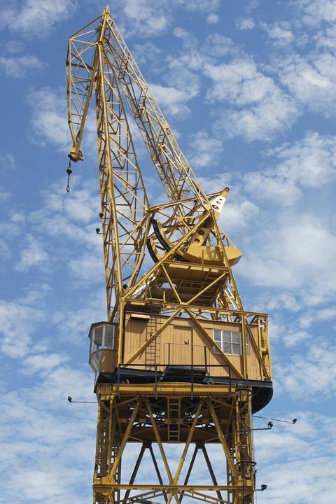 Historical crane Photo