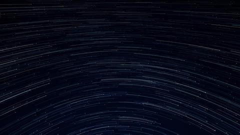 star trail galaxy in stunning nigh Animation