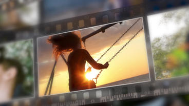 3D Photo Slideshow 2 Premiere Pro Template