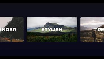 Dynamic Opener Slideshow Intro Logo Premiere Pro Template