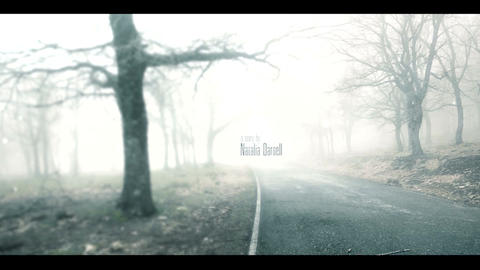 MISTY ROAD opening titles After Effects Template