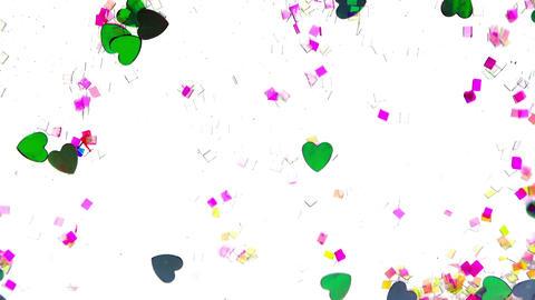 Fancy Ornamental Heart Flowing Footage