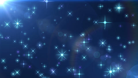 Blue shine background material Animation